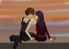 Meilin And Kai Sunset Ch 53 by selenityshiroi