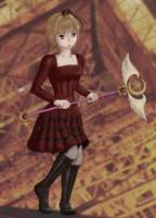 Sakura in Magnet Costume (NT 68) by selenityshiroi