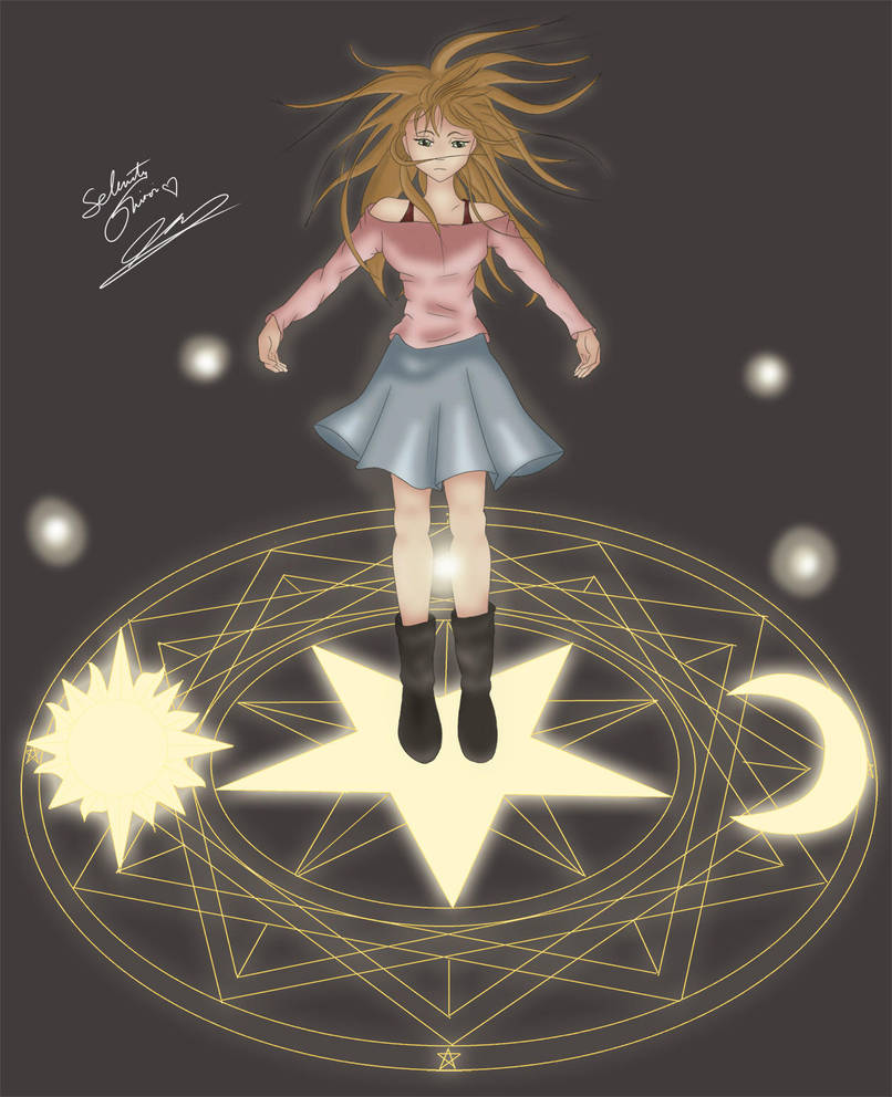 Sakura and the Five Force Treasures by selenityshiroi