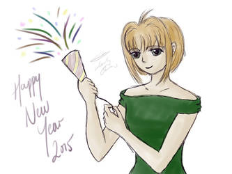 Happy New Year 2015 by selenityshiroi