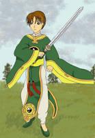 Battle Syaoran by selenityshiroi
