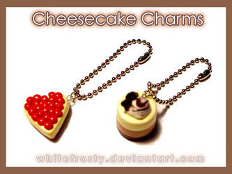 Cheesecake Charms by whitefrosty