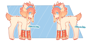 + Abbey Reference Sheet + by chikaetchiko