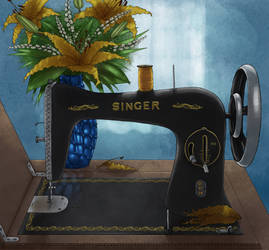 Sewing machine by MrMayhemm