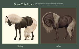 Draw This Again: Shy Pearl by Vizseryn