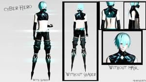 [MMD    OC] Cyber Hero by MorpherTV