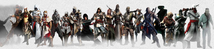 Assassins Throughout the Years II by Nibbler3100