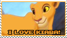 I love Kiara by Mandspasm