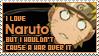 Love Naruto, No War by Mandspasm