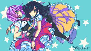 UTAU: Drop Pop Candy - Kokone Mirai and Roosaamu by Nekomiira