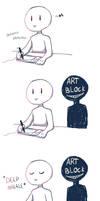 How to get rid of Art Block by Nekomiira