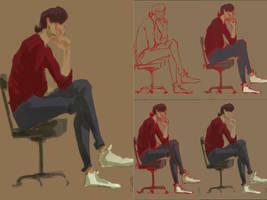 Sketch progression by Eirwen980