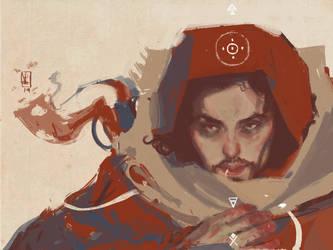 Desert Sorcerer by Eirwen980