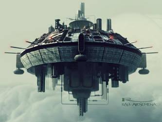 Europa - The SpaceShip by raularosemena