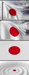 Japon Bandera Project by raularosemena