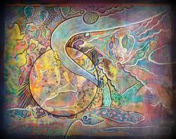 100 0396hk psyche upsidedownlandscape by santosam81