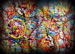 pollock cosmic vibes by santosam81