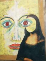 empty mona lisa by santosam81