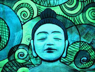 1401 buddha by santosam81