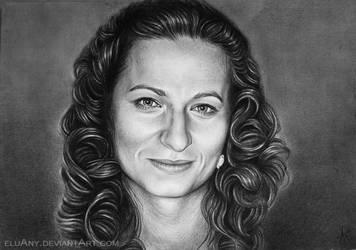 Portrait XII. by Eluany