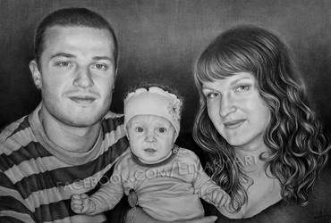 Family portrait by Eluany