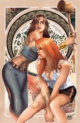 LOIS VS MARY-JANE 2 by J-Estacado