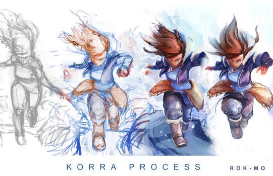Korra Process by R0K-MO