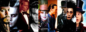 Johnny Depp 9 in 1 by Kankolinka