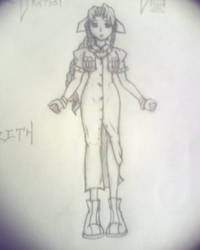 Aerith -not scanned- by ZanderAnvist