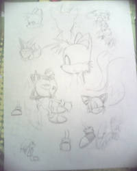 loads of sketches by ZanderAnvist