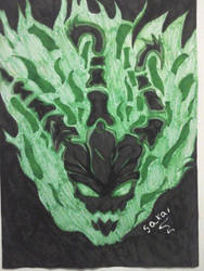 Thresh Fanart by VincenteSakai