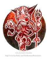 Dia de los Diablo. by telegrafixs