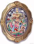 Princess Peach by telegrafixs