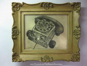 TELEPHONE OF TERROR by telegrafixs