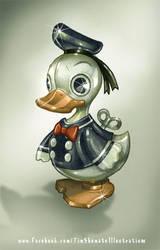 Shiny Toy Duck by telegrafixs