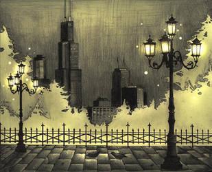 Chicagofall by telegrafixs
