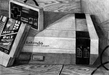 My beloved Nintendo by telegrafixs