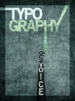 Typography is My Voice by WithinEye