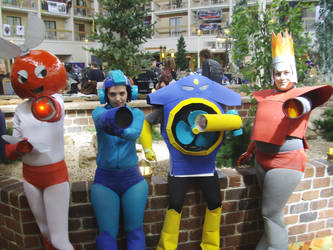 Starfest 2011 Megaman Group by AJTalon