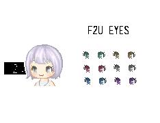 F2u Eyes by sirlepoptart
