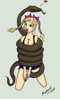 Melian in Snake Peril! by MelianMarionette