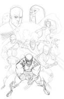 xmen commission WIP by TheAdrianNelson