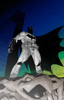 B is for  Batman WIP by TheAdrianNelson