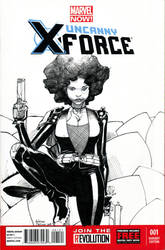 Domino Sketch Cover Commission by TheAdrianNelson