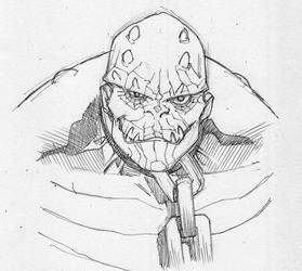 Batman Rogue Gallery: Killer Croc by TheAdrianNelson