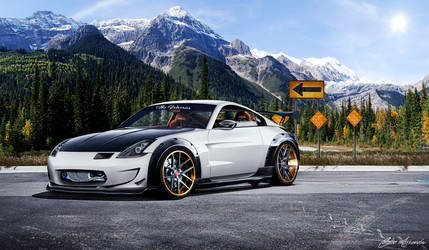 Nissan 350Z by cobraromania