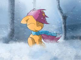 Wind-blown by FuzzyFox11