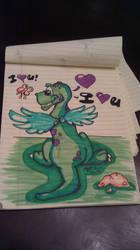Dino LOVE lol by ZombiDog