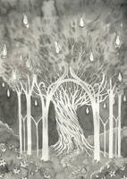 Inktober 8 by Gawarin