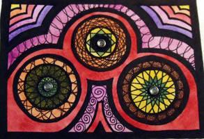 Spirograph Triad by mintdawn
